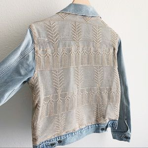 Levi's Made + Crafted • French Tulle Denim Jacket